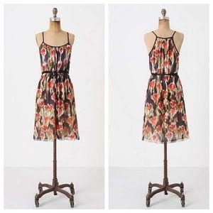 Anthropologie Moulinette Soeurs 100% Silk Dress
